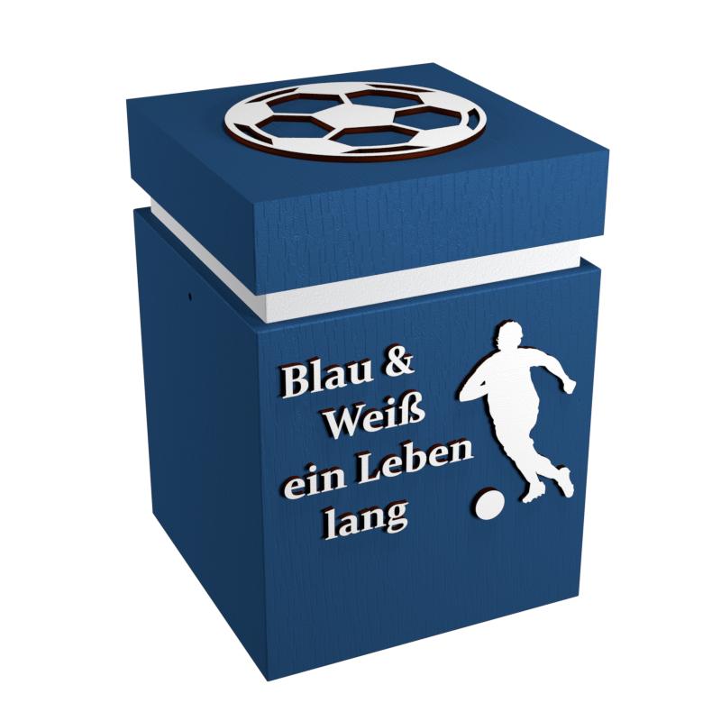 Individuelle Fußball-Urne \